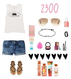 """""""2300 Tysm"""" by soccer-tumblr ❤ liked on Polyvore featuring Billabong, American Eagle Outfitters, Essie, Casetify, Ray-Ban, Fitbit, Maybelline, Zodaca, MAC Cosmetics and Benefit"""