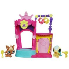 Littlest Pet Shop Backstage Talent Studio by Littlest Pet Shop. $14.45. From the Manufacturer                It's time for your canary and yorkie pets to take the stage with your Backstage Talent Studio set. Get them ready for their big moment under the lights.                                    Product Description                Have big concert fun with the canary and yorkie pets in this BACKSTAGE TALENT STUDIO playset! Put your pets on stage for the big show, then brin...