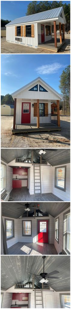 Elisa's Board Quaint Cottage - You are in the right place about bridal accessories 2019 Here we offe Tiny House Cabin, Tiny House Plans, Tiny House Design, Tiny Houses, Cabins And Cottages, Amish Cabins, Cabin Kits, Backyard, Patio