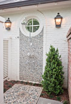 Beautiful outdoor shower ~ Portfolio | Wills Company