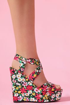 Wildflower Platform Wedge from NaSty Gal <3