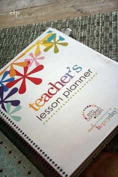 Best. Lesson Plan Book. Ever!  MUST HAVE totally perfect for so many grade levels!: