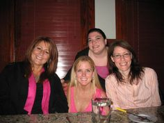 Breast Cancer Fund Raiser...LZW, Jenn, Jo & Tree