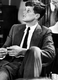 Pre-Jackie: John Fitzgerld Kennedy