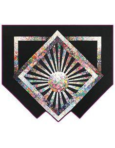 New Quilt Patterns - Garden Glow Quilt Pattern