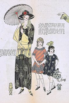 May 1922 Fashion    From the May 1922 issue of La Mode magazine.