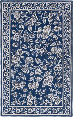 Buy the Surya Blue Direct. Shop for the Surya Blue Smithsonian x Rectangle Wool Hand Tufted Paisley Area Rug and save. Diy Carpet, Rugs On Carpet, Carpets, Hall Carpet, Outdoor Carpet, Beige Carpet, Carpet Decor, Black Carpet, Decoupage