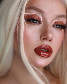Glam Makeup, Eye Makeup Art, Cute Makeup, Hair Makeup, Angel Makeup, Fox Makeup, Devil Makeup, Witch Makeup, Eyeshadow Makeup