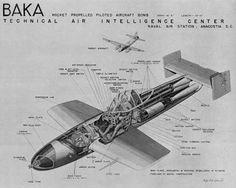 Cockpit & internals of a Yokosuka MXY7 Ohka rocket powered suicide aircraft.