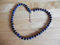 Blue tiger's eye necklace £10.00