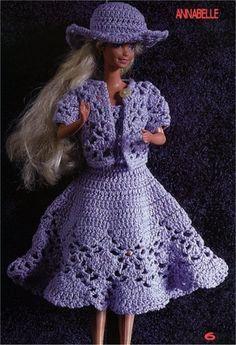 Handmade2013: Schema uncinetto vestito barby