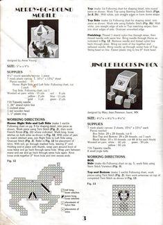 PLASTIC CANVAS (pág. 20) | Aprender manualidades es facilisimo.com