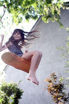 skateboard backyard swing