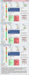 Tong Shu Almanac for Saturday 16th - Tuesday 18th May 2015