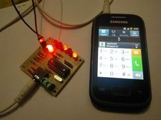 Picture of Output of DTMF Module !