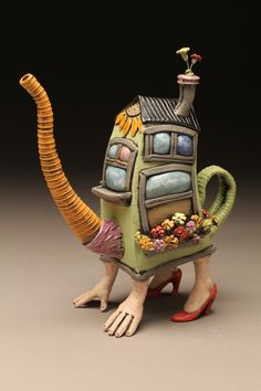 Cory McCrory's teapot.  I like it because it's great to look at and would be a good conversation starter!