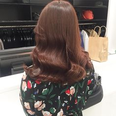 Chestnut Hair, About Hair, Hair Looks, Hair Beauty, Hair Color, Long Hair Styles, Orange, Hairstyles, Inspiration