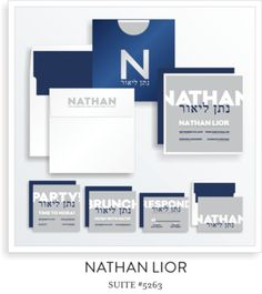 NATHAN LIOR BAR MITZVAH INVITATION