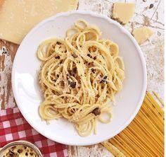 Spaghetti mit Trüffel Butter und Parmesan - Soulfood pur!
