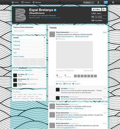 Espai Bretanya - Twitter Page Design