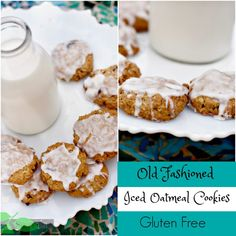 Free Oatmeal Cookies recipe made with brown sugar and toasted oats ...