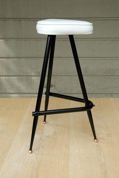 midcentury modern bar stool