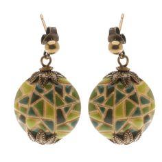 Tutorial - How to: Mosaic Earrings | Beadaholique