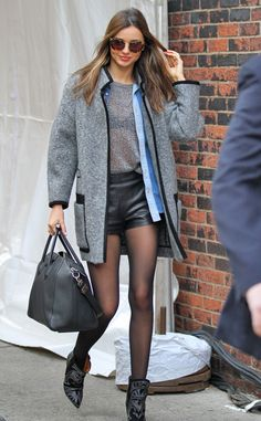 Gray Day from Miranda Kerr's Street Style | E! Online