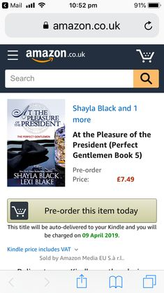 Shayla Black, Gentleman, Books To Read, Presidents, Reading, Word Reading, Gentleman Style, Reading Books, Libros