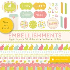 embellishments for digital scrapbooking