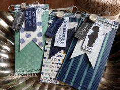 Authentique Paper: Dapper Gift Card Envelopes