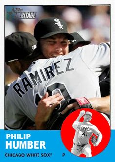 Baseball Cards That Never Were: 2012 Heritage Philip Humber,  Chicago White Sox