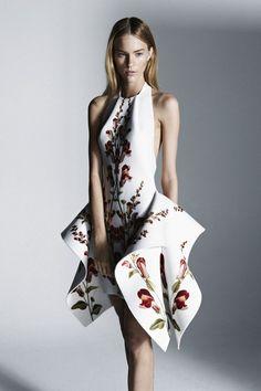 Beautiful print on a Natalia Grzybowski dress