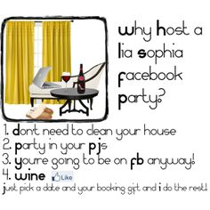 """fb party"" by andrea-nickels-barnett on Polyvore"