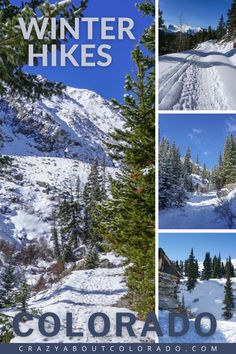 Winter hiking in Colorado's backcountry is a special time to get outside. The crowds are few and you have longer, quiet stretches that belong to yourself. Most hiking trails double as snowshoeing trails during the wintertime. A list of trail suggestions we've loved hiking in winter!