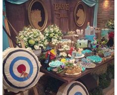 Brave candy sweets table ideas