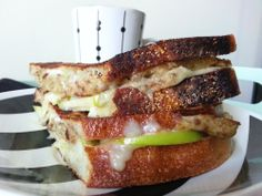 Scrapple Apple Grilled Cheese