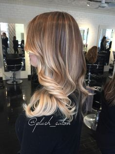 Plush_salon color and style by Monica #plushsalon #blondehair #ombre