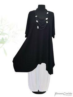 PoCo DeSiGn LAGENLOOK Tunika Kleid Shirt Bluse 44 46 48 52 56 58 L-XL-XXL-XXXL