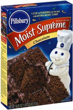 Pillsbury Vanilla Cake Mix In Microwave
