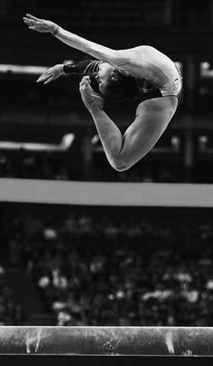 I feel like gymnast's are just really buff dancers that do more flips & have a different type of stage (: