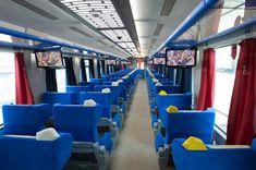 A Estrada de Ferro Vitória a Minas (EFVM), da Vale, opera o único trem de passageiros diário no Brasil e liga Vitória, no Espírito Santo, e Belo Horizonte, em Minas Gerais. ITINERÁRIO