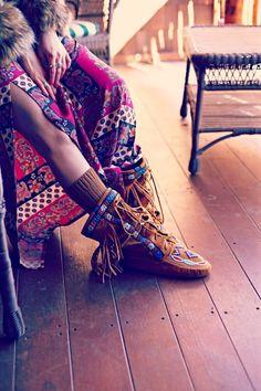 gypsy mountain hippy girl chic