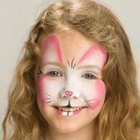 How To: Easter Bunny Face Paint by Snazaroo