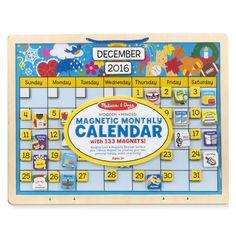 Melissa Doug My First Daily Magnetic Calendar Multi