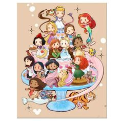 Bella Disney, Old Disney, Disney Fan Art, Chibi Disney, Disney And Dreamworks, Disney Pixar, Cute Disney Drawings, Princess Cartoon, Princess Drawings