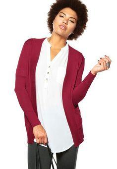 Active Cardigans, Blazer, Jackets, Women, Fashion, Red Sweaters, Down Jackets, Moda, Fashion Styles