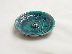 Lotus Flower Ceramic Incense Burners | LOTUS Incense Burner Handmade Ceramic by DeBaunFineCeramics