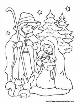 Cute Christmas coloring pages