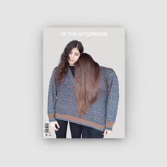 Of the Afternoon Magazine Issue 7 Denim, Cover, Sweaters, Jackets, Stuff To Buy, Magazines, Tech, Science, Reading